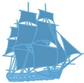 Marianne Design Creatables - Tiny's Tall Ship - LR0416